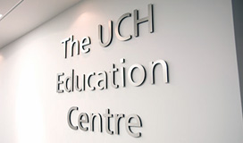 UCH sign image